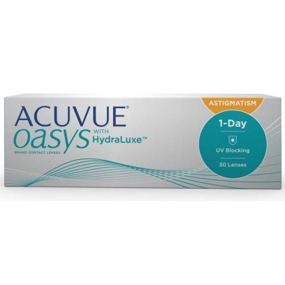 1 • Day Acuvue® Oasys with Hydraluxe™ for Astigmatism