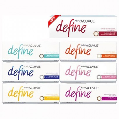 1 • Day Acuvue® Define® with Lacreon®