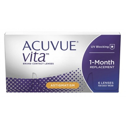 1 • Month Acuvue® Vita™ For Astigmatism