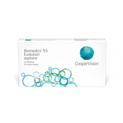 Biomedics® 55 Evolution 1 • Month