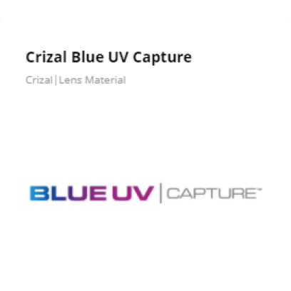 Essilor Crizal Blue UV Capture
